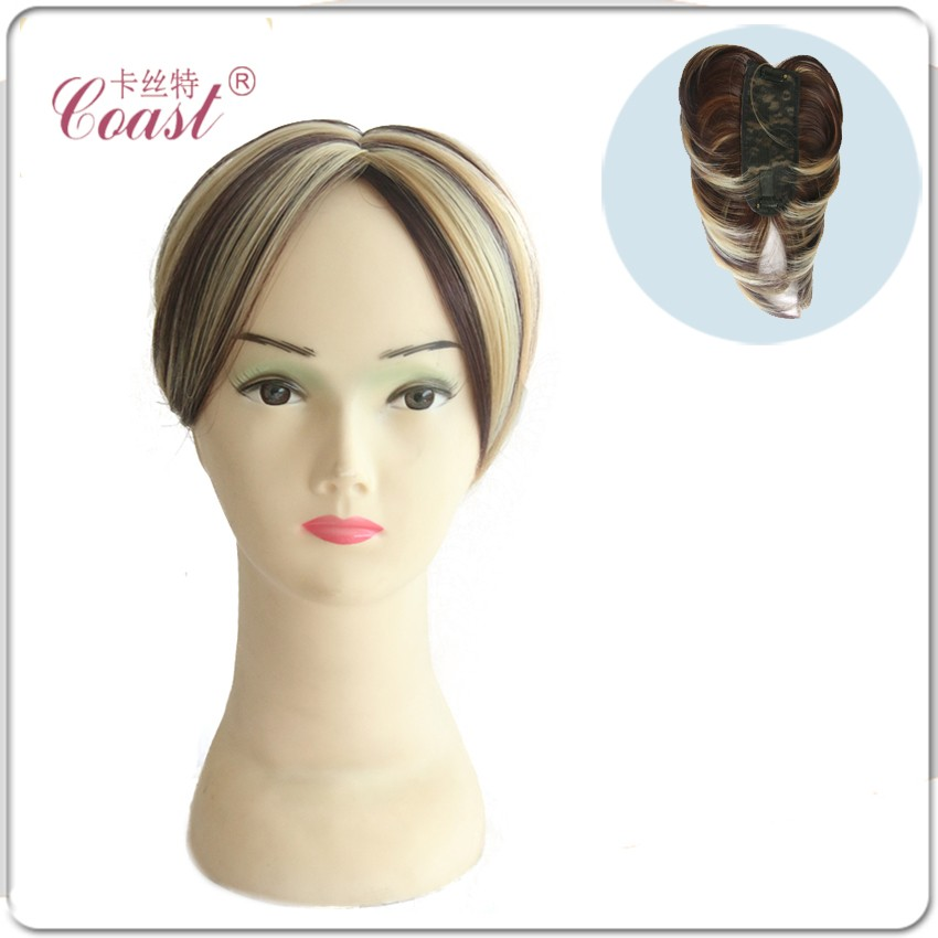 Hot sale synthetic hair piece toupee for women toupee human hair