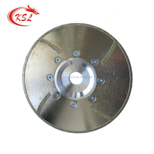 Electroplated Diamond Double Side Cutting Saw Blade with Flange