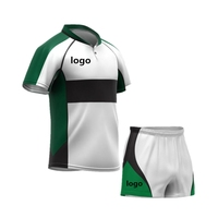 High Quality Blank Rugby League Jersey Custom Wholesale All Collar Rugby Shirt