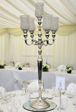 Hot!! Wedding crystal Candelabra on Sale , Decorative tall wedding candelabra centerpiece,