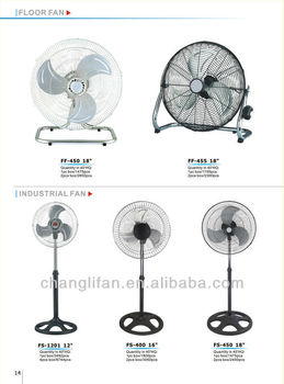 18 inch Stand Fan with Strong Wing