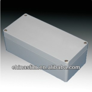 Weatherproof Extruded aluminium junction boxes