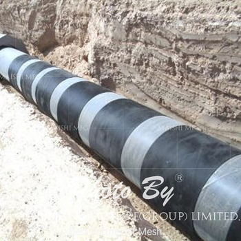 Rockshield Mesh Pipe Coating Protection