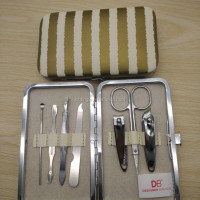 Hot 7pcs Personal Stainless Steel Manicure