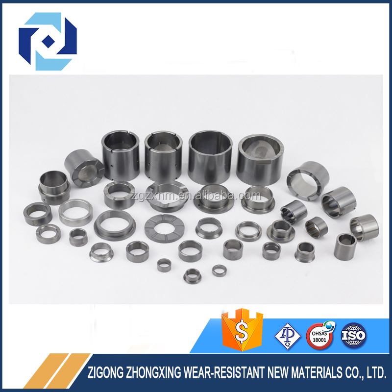 Various Excellent Abrasion And Corrosion Resistance Tungsten Carbide Shaft Sleeves (For Submerged Oil Pump)