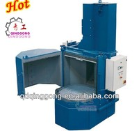 turn table shot blasting machine for starting ratchet wheel