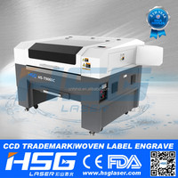 Automatically pick up laser machine engraver cutter for labels and trademarks HS-T9060C