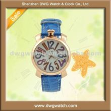 Hot sale christmas swap watch with colorful number dial DWG-L0288