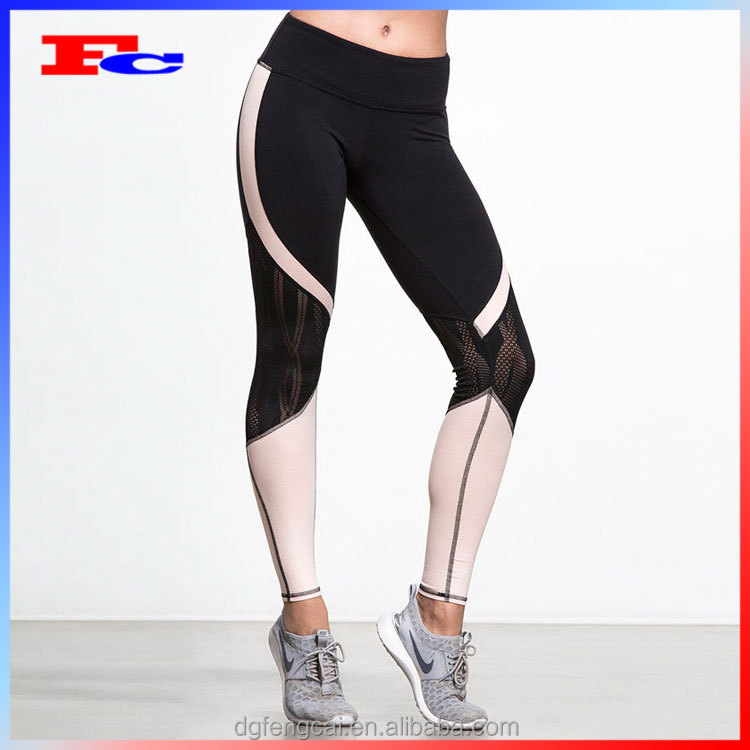 Dri Fit Athletic Apparel Manufacturers Wholesale Gym Clothing Compression Fit Yoga Fitness Leggings For Women