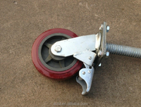6 inch 8 inch Scaffolding Adjustable Caster Wheel