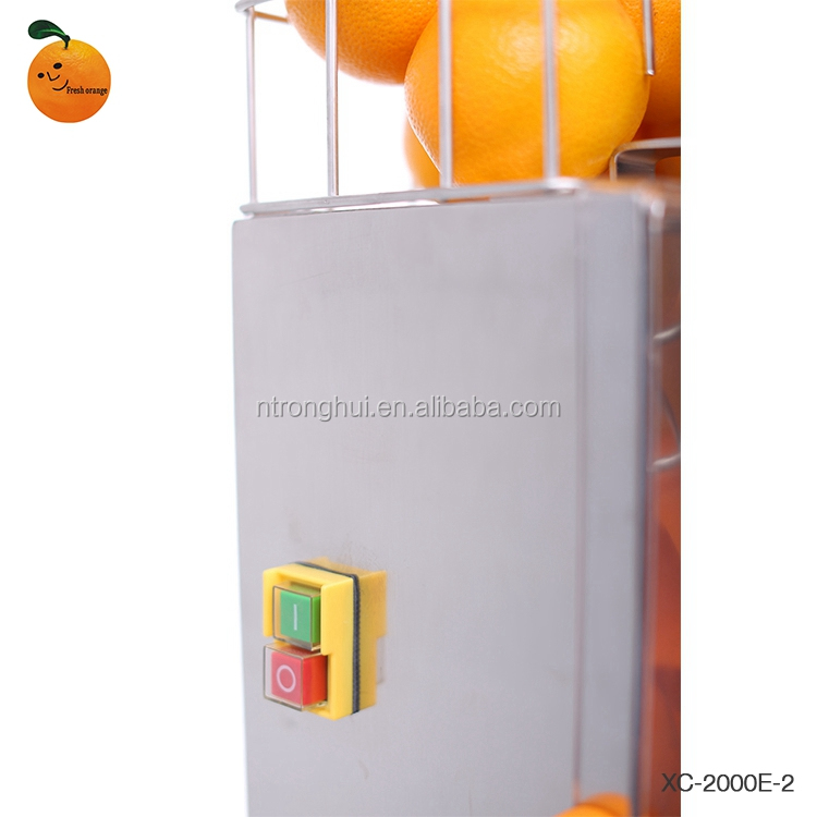 CE Certification Fresh Orange Automatic Orange Juicer With 220V Electric