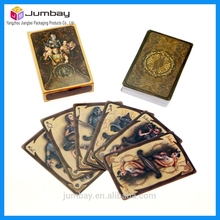 high quality custom tiger playing cards