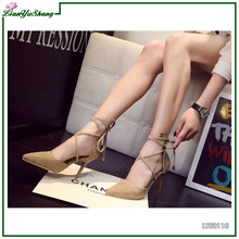 Newest african high quality women soft shoes high heels genuine leather women pumps