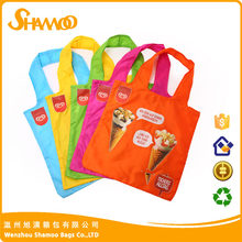 Fabric eco recycled promotional folding shopping bag