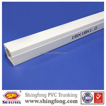 Decorative Network PVC Cable Trunking Duct
