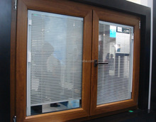 Hollow glass partition blinds