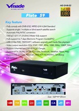 fta iks CA M3 high definition dvb s2 strong hd decoder suitable for Europe market
