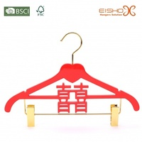 Chinese Wedding Dress Clothes Suit Wooden Hanger
