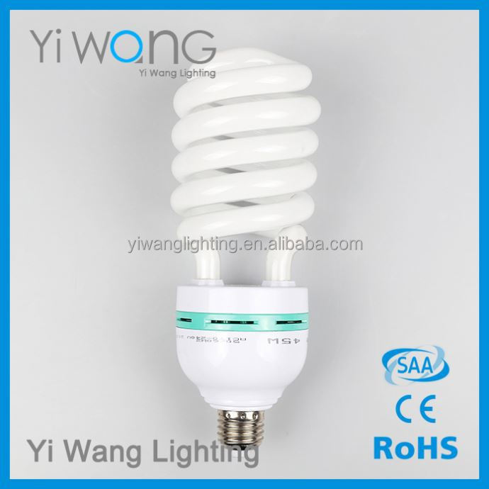 Yiwu Factury Cfl Half Spiral Energy Saver Lamp 105W Bulb