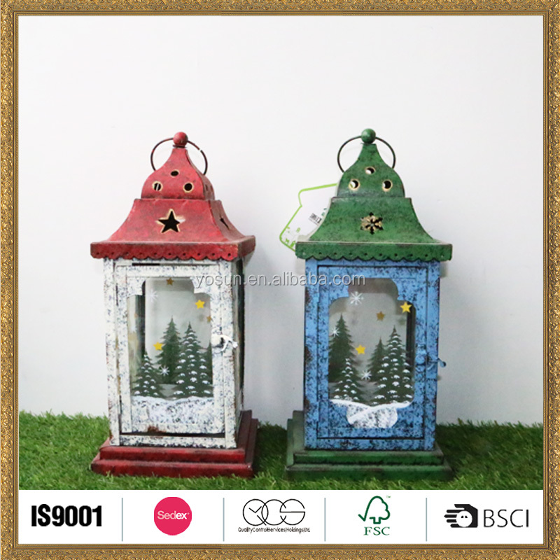Available custom Eco-friendly lantern candle made in China