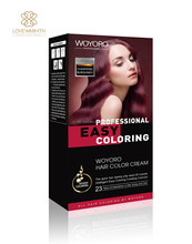 Professional hair color brand names allergy free hair dye kit beijing hair color 120ml+120ml