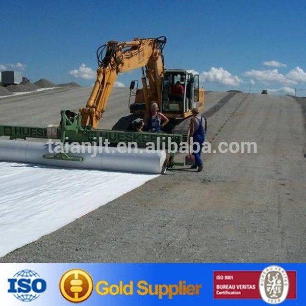 Road Building Fabric Woven Polyethylene Composit Geotextile Price