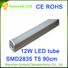 Alibaba china suppliers CE ROHS T5 12w SMD2835 900lm led spotlighting