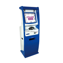 19 Inch Self-service kiosk, Credit Card Payment Kiosk With Card Dispenser And A4 Printing Kiosk