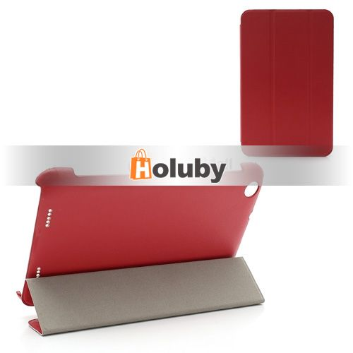 Tri-fold Stand Leather+PC Case for Lenovo IdeaTab A3000