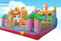 otudoor inflatable fun city for sale