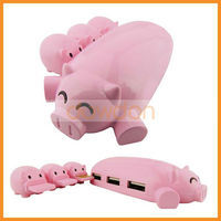 USB 2.0 Hub whit TF Card Read Support 500G-1TB Mobile HDD