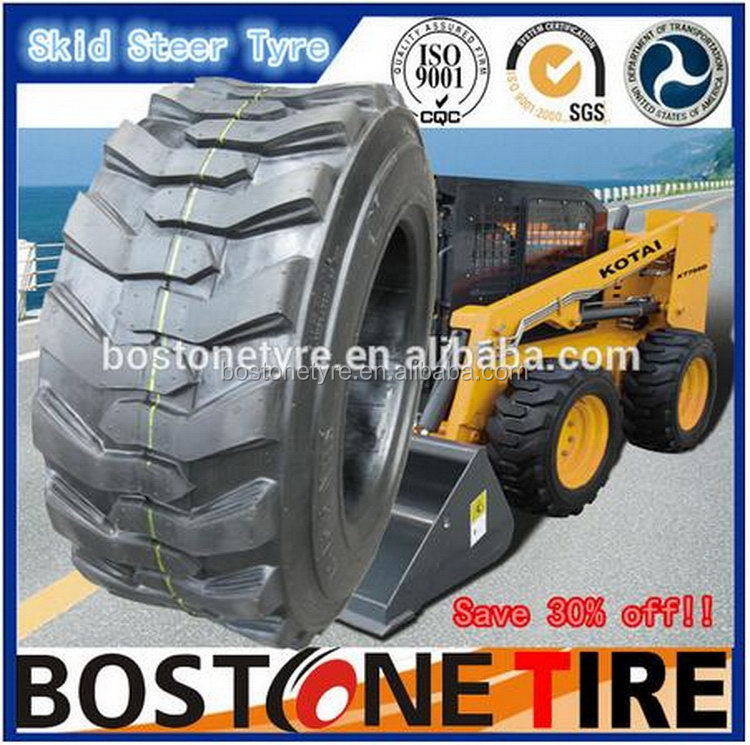 Designer best selling mechanical bias loader skid steer tyre