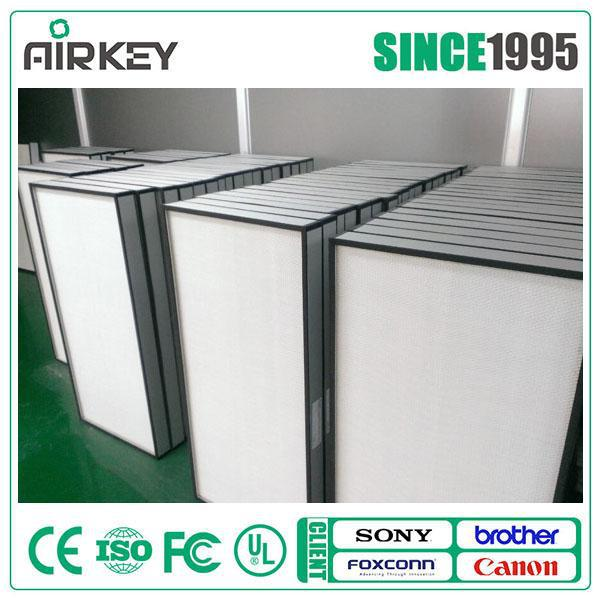 2017 Hot Clean Room Active Carbon Industrial Hepa Air Filter