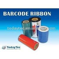 trailer on printing ribbon and label