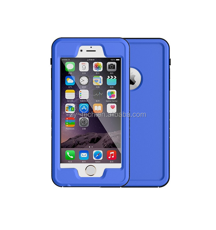 multiple functions waterproof mobile phone case for iphone 6/6 Plus