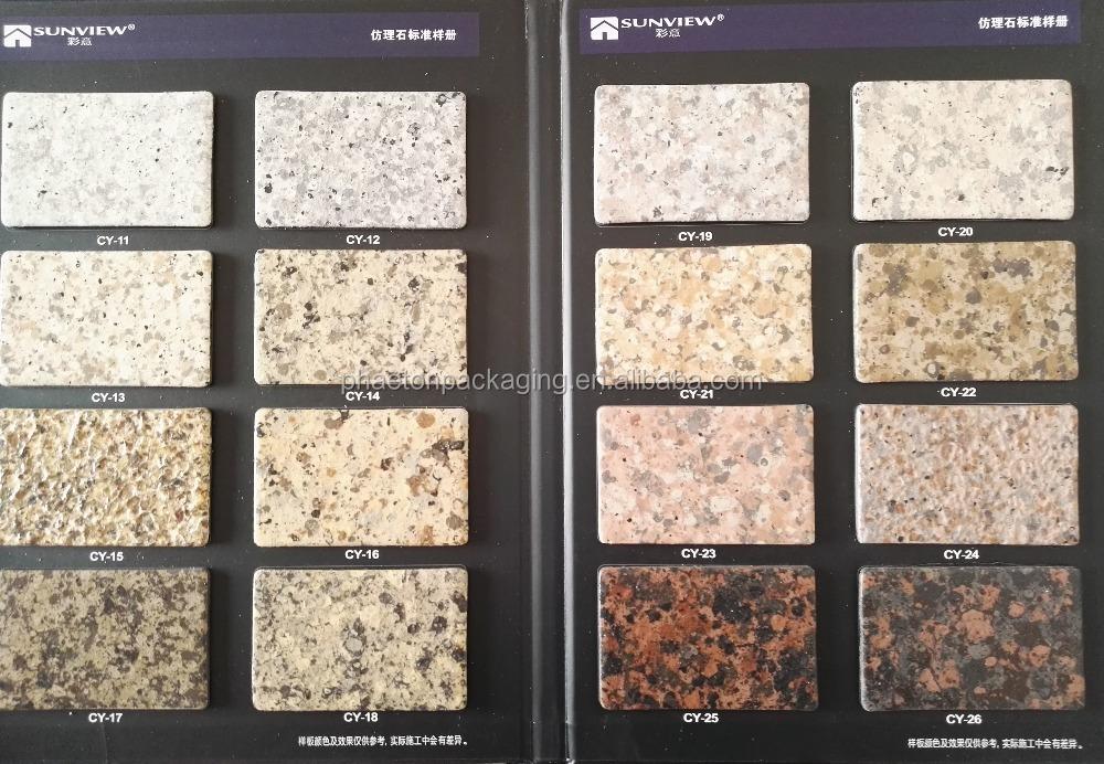 Marmer effect verf steen effect verf muur verf plastic for Pintura efecto piedra