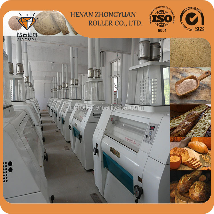 large scale automatic Teff Grain/maize flour mill machinery