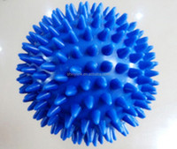PVC small hard massage ball with high quality hot sale
