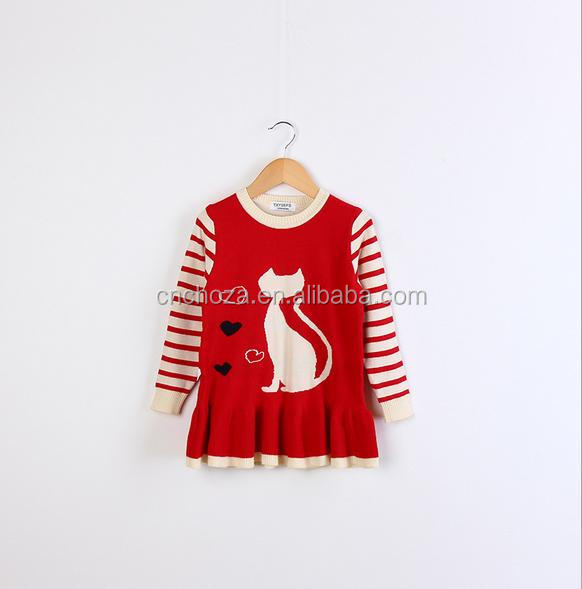 Z59451B Wholesale New Fashion Design Baby Knitted Winter Sweater For Kids