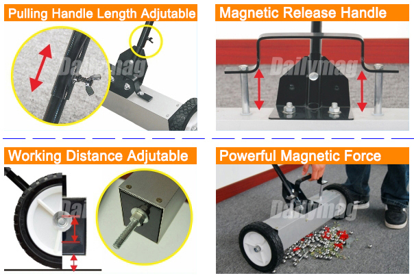 Powerful Durable Magnetic Sweeper