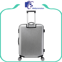 ABS lightweight hard case luggage with removable wheels