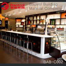restaurant funiture commercial bar counter for sale
