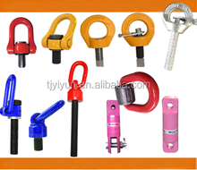YD-083 M64 WLL 28 rigging Swivels Hoist Rings / M72 Vlbg Heavy Lift Swivel lifting Ring For Industrial Rigging