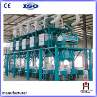 Low Price 50tpd Complete Set Wheat Flour Mill Plant