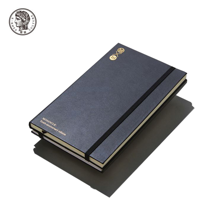 promotional custom waterproof leather diary notebook