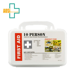 High Quality 10 Persons First Aid Kit Box For Home And Workplace
