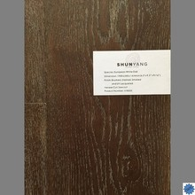UV Lacquered Euorpean White Oak Engineered Wood Flooring-SY8005