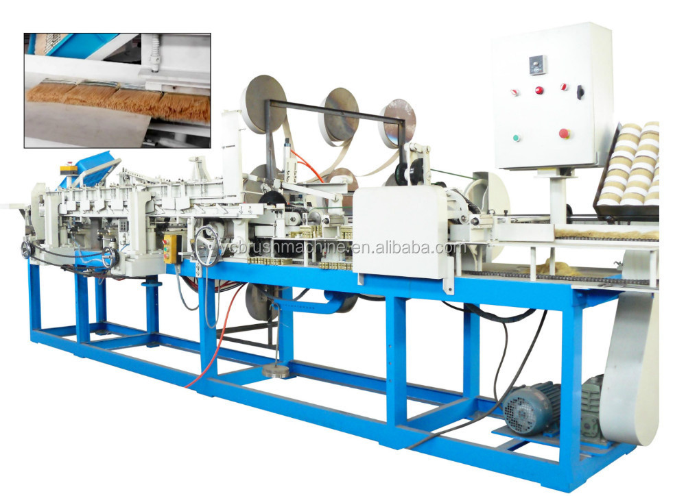 paint brush making machine-automatic bristle filling machine