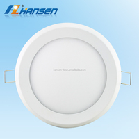 Ultrathin CE SAA 15w 20w downlight IP44 IP65 round led panel light