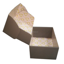 Custom printing paper shipping design packaging cartons corrugated carton box